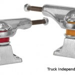 trucks independent de 2 tailles